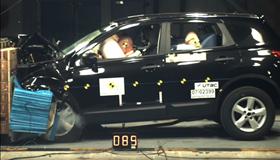 Crash test Nissan Qashqai