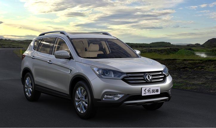 Начались продажи Dongfeng Fengdu MX6, брата близнеца Nissan X-Trail.