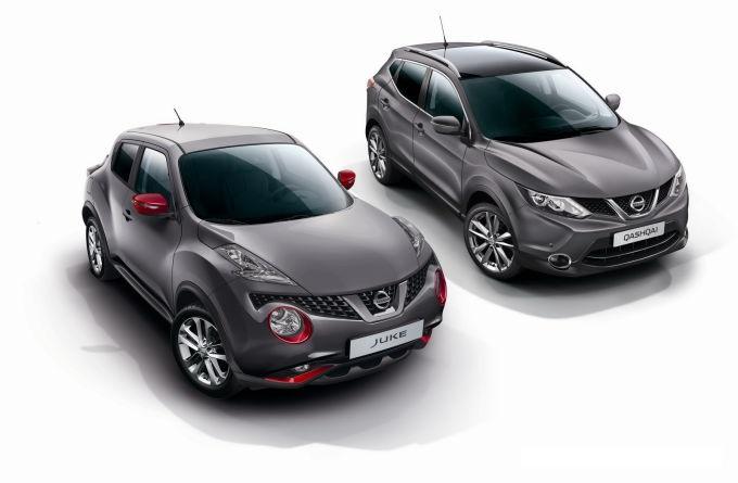 Nissan представил два кроссовера Juke и Qashqai Special Series.